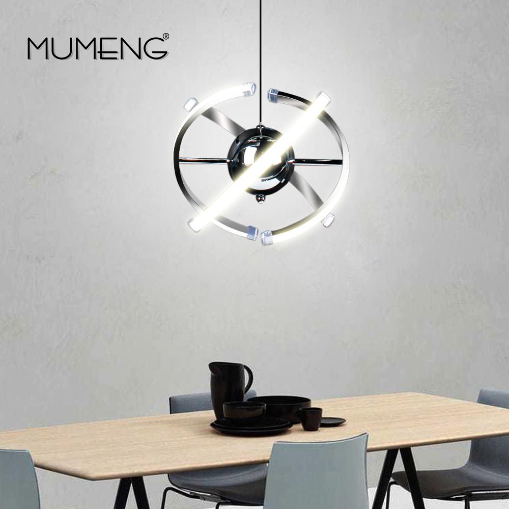 Ball Pendant Light LED 23W Creative Acrylic Kitchen Lamp 85-265V Dining Room Hanging Lighting Adjustable Style Luxture