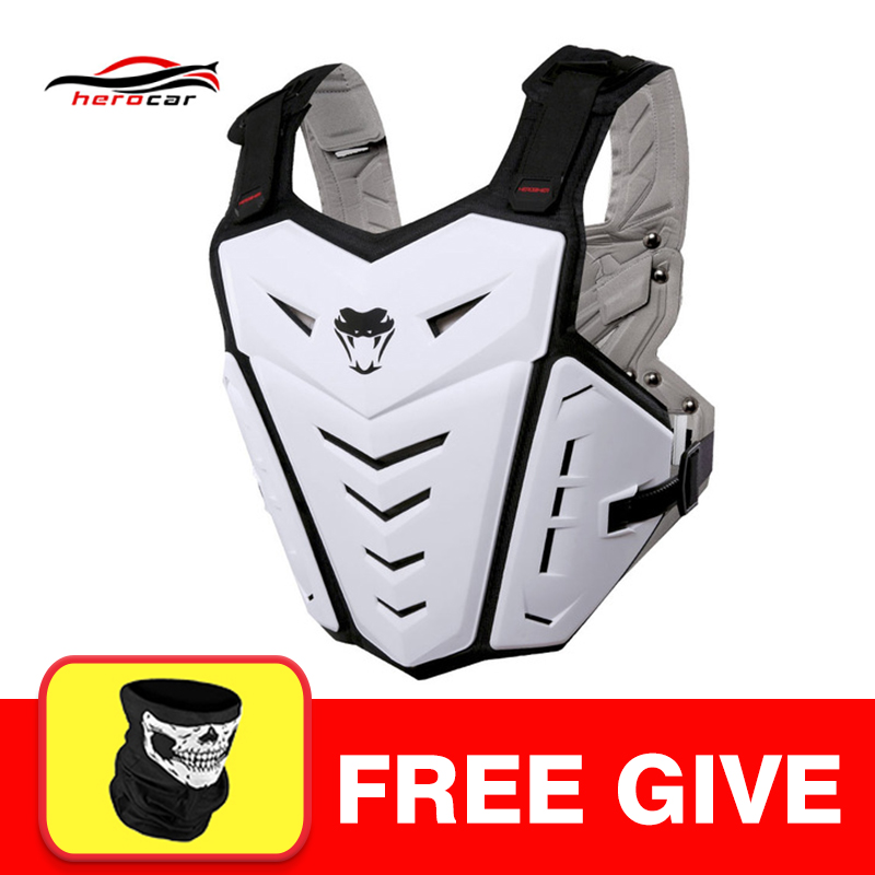 Motorcycle Jakcet Body Armor Motorcycle Elbow & Knee Pads Suit Moto Motocross Vest Protective Gear Protectors Set