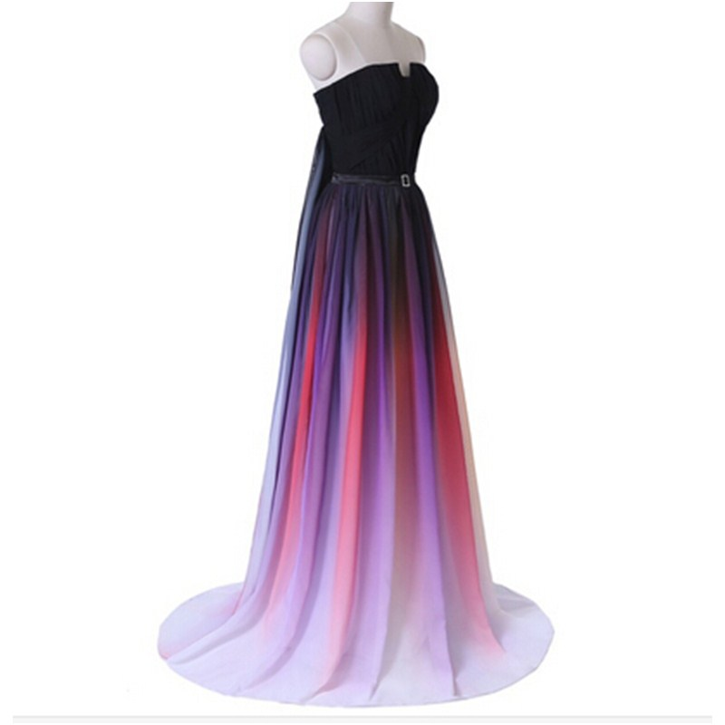 wuzhiyi Colorful Long Prom Dresses 2016 Formal Women Special ...