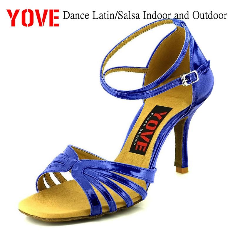 YOVE Style w121-62 Dansskor Bachata / Salsa Inomhus- och Utomhusskor - Gymnastikskor