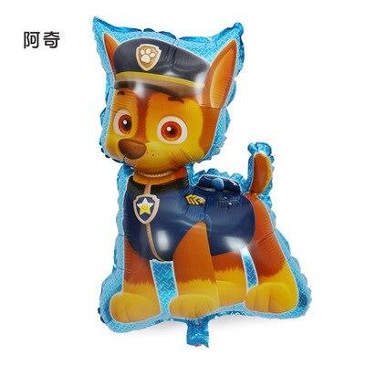 Хит, Paw Patrol, украшение на день рождения, фигурки, игрушки, Щенячий патруль, воздушные шары, вечерние, декор для комнаты, Чейз, Маршалл, баллон, детские игрушки для девочек - Цвет: Big Size 02