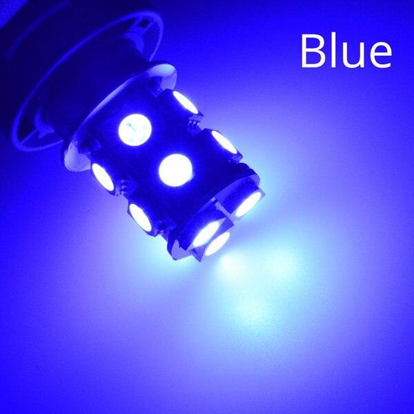 1156 BA15S 1157 BAY15D P21W BA15D 13Led 5050 Автомобильные светодиодные поворотные парковочные сигнальные огни, тормозные задние лампы, автомобильные задние лампы заднего хода, DC 12 В - Испускаемый цвет: Blue