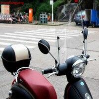 scooter windscreen deflector motorcycle windshield street glide windshield wind deflector wind shield 420*420*3MM