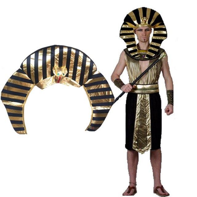 Egitto Faraone Costumi Cosplay Cappelli Tappi a Corona Del Partito di  Halloween Adulti Bambini Bambini Cappelli 62784630602