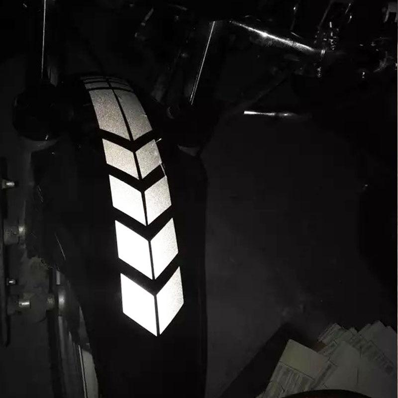 Motorcycle Sticker Reflective Moto Stickers Motorbike Accessories