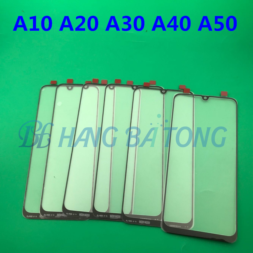 Image 5 - 100pcs Original Front Panel Sensor LCD Display Glass Cover Lens For SAMSUNG Galaxy A10 A20 A30 A40 A50 A60 A70 A80 A90 2019-in Mobile Phone Touch Panel from Cellphones & Telecommunications