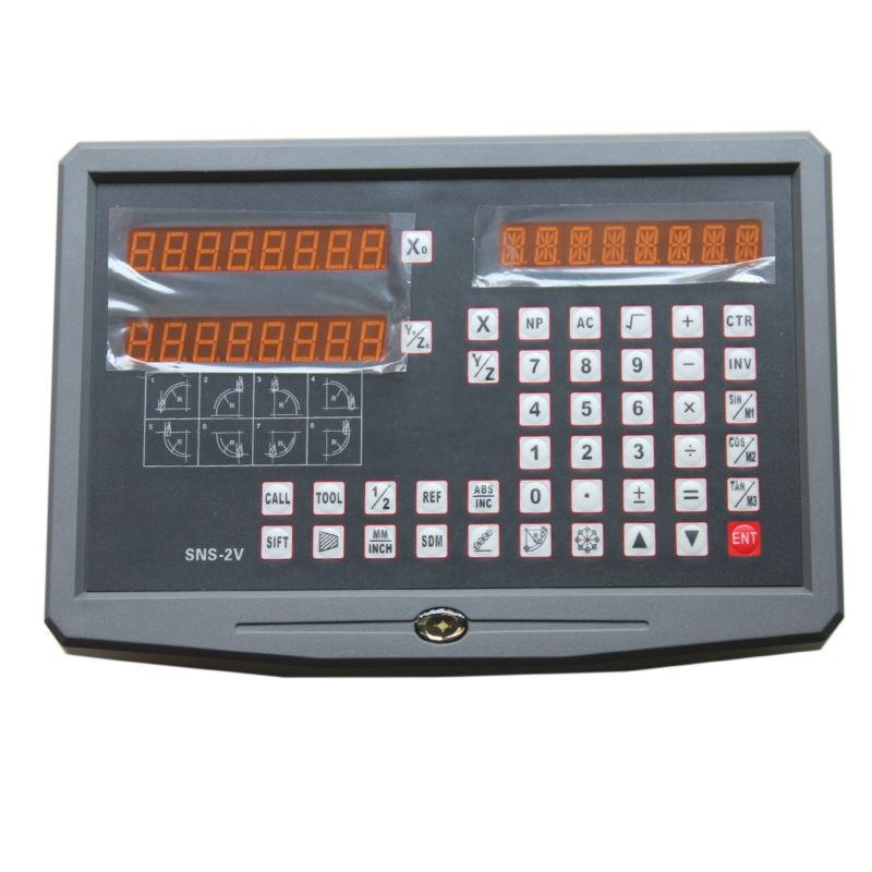 Display 2 Axis digital readout 2pcs 5microm Sino KA300 KA500 linear scale linear encoder linear ruler