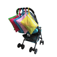 New 1Pc Waterproof Stroller Pushchair Diaper Baby Out Diaper Bags Clothes Nappy Storage Hang Bag Pouch for wheelchair Maternity(China)