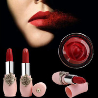 Long-lasting Lipstick Cosmetic Red Health & Beauty