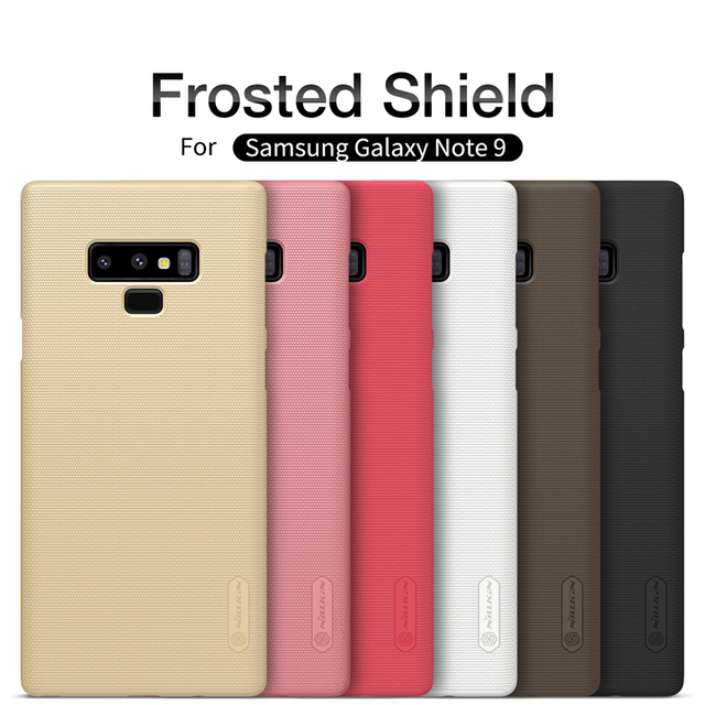 Nillkin Samsung Galaxy Note 9 Note 8 Super Frosted Shield Matte PC Hard Back Case Cover