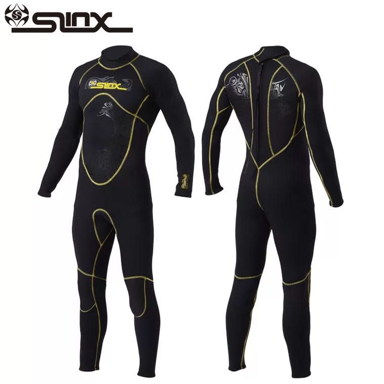 Slinx 1101 Scuba Diving Wetsuit Men 3mm Diving Suit Neoprene Swimming Wetsuit Surf Triathlon Wet Suit Swimsuit Full BodysuitSlinx 1101 Scuba Diving Wetsuit Men 3mm Diving Suit Neoprene Swimming Wetsuit Surf Triathlon Wet Suit Swimsuit Full Bodysuit