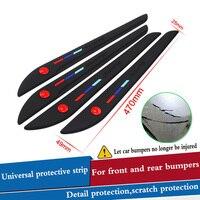 Auto Stoßstange Protector Auto Anti-kollision Streifen Dekorative Streifen Auto Styling Für saab 9-3 9-5 93 95 900 9000 zubehör
