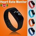 5 cor original conectividade bluetooth smart watch relógio smartwatch à prova d' água heart rate monitor de fitness relógio para ios android