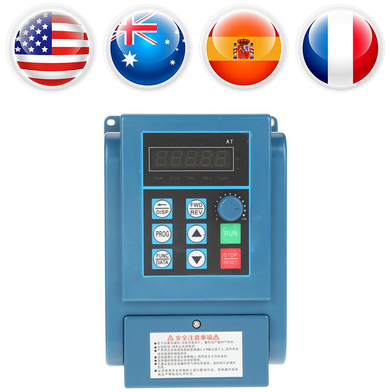 цена на AC 380V Variable Frequency Drive Adjustable Inverter Motor Drive VFD Speed Controller 3-phase 2.2kW AC variateur de frequence