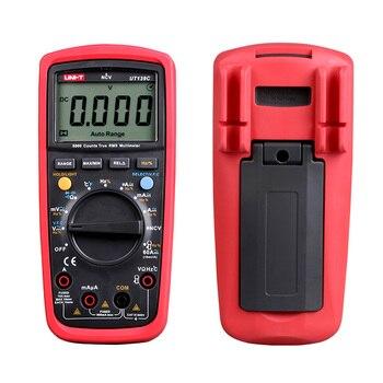 Multímetro Digital UNI-T UT139C Auto de la gama de valores eficaces verdaderos medidor de condensador de mano 6000 voltímetro de la temperatura 2