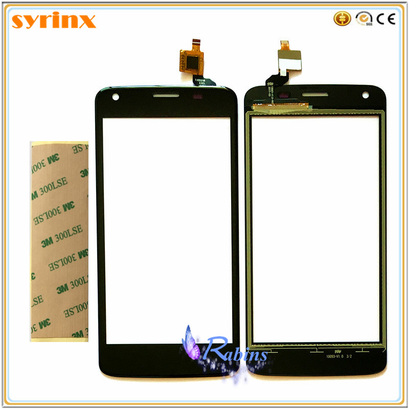 3m tape 4.5 inch Touch Panel Touchscreen For Fly FS457 Nimbus 15 4.5inch Touch Screen Digitizer Front Glass Digitizer Sensor image