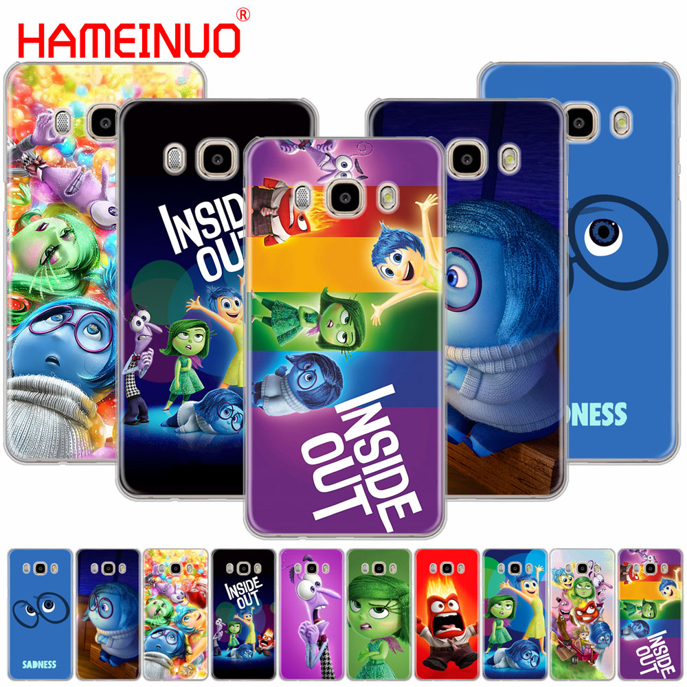 HAMEINUO Cartoon anime Inside Out cover phone case for Samsung Galaxy J1 J2 J3 J5 J7 MINI ACE 2016 2015 prime