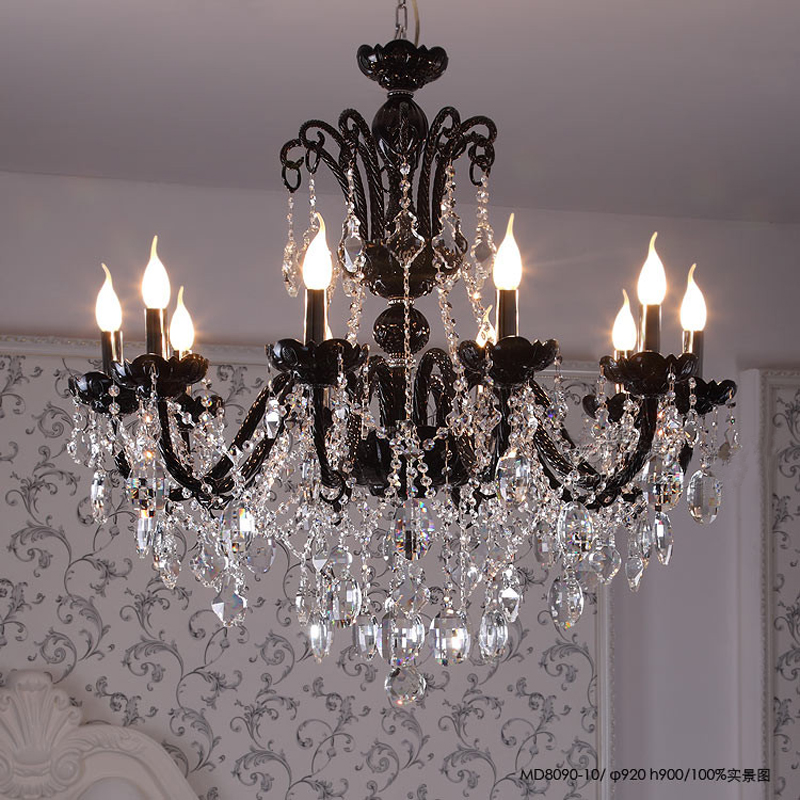 Modern candle chandelier large crystal chandelier stairs lustres de modern candle chandelier large crystal chandelier stairs lustres de cristal deco contemporary modern chandelier indoor lamp in chandeliers from lights aloadofball Image collections