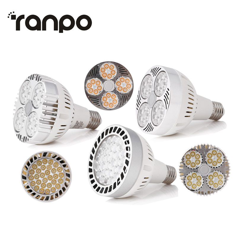 1PCS <font><b>PAR30</b></font> <font><b>E27</b></font> LED Spot Down Light 35W Super Bright Led Spotlight Bulb AC110-265V Track Lamp Bulb Home Decor image