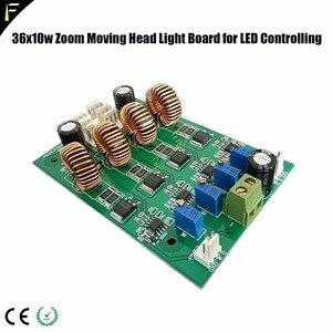 Image 4 - Panel de visualización de la placa base de repuesto LED Wash cabezal móvil 36x10W 4 en 1 con Tablero Principal de visualización de zoom y tablero de control LED
