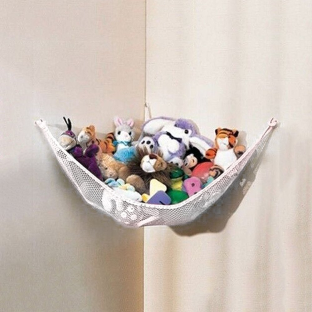 130 X 66 X 66cm Baby Toy Hammock Net Stuffed Animals Dolls Storage Hanging Poly Deluxe Pet Mascotas Toys Organize Corner Hammock