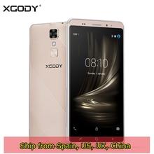XGODY D17 Smartphone Android 5.1 5.5 Inch 1GB RAM 16GB ROM MTK6580 Quad Core 8MP GPS Dual Sim 3G Unlocked Cell Phones Telefone