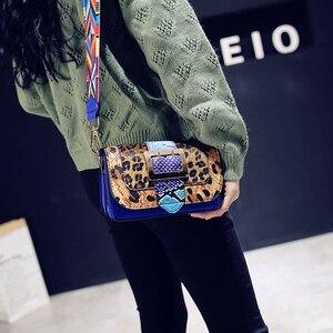 Image 3 - KMFFLY borse di lusso invernali donna famose borse da donna di marca fiori eleganti borse a quadri borsa a tracolla a tracolla sac a main