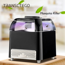 Cube Mosquito Killer лампа ошибка Zapper насекомые ловушка USB Led UV Bionic огни немой фотокатализатор без радиационного ингаляции водонепроницаемый