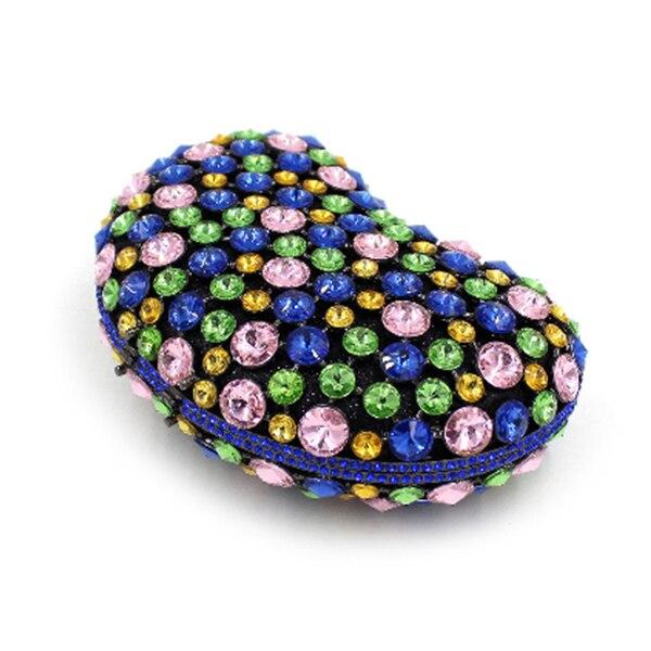 Perle vert Demoiselles D'honneur Vert Soirée Bleu Main Bandoulière De À Bleu Mariage Cristal Sacs Sac Dames Partie Femmes Femelle Portefeuilles Embrayages Embrayage 1qvAwn46x