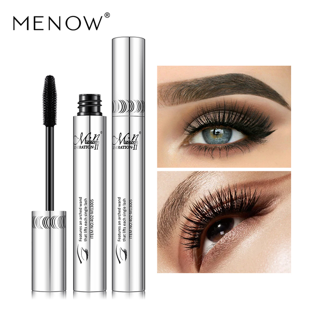 Menow marca maquiagem curling rímel grosso volume expresso cílios postiços compõem à prova dwaterproof água cosméticos olhos m13005
