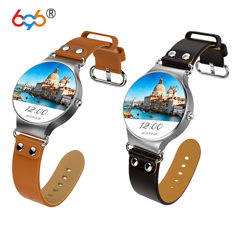 696 KW98 3G Android Smartwatch 8GB Health Monitor Sports GPS Smart Tracker Watch With SIM Bluetooth Wifi For iPhone Andoird