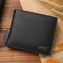 JINBAOLAI Genuine Leather Men Wallets Short Design ID Card Holder Men Brand Designer Casual Top Quality Male Coin Pocket Purse цены