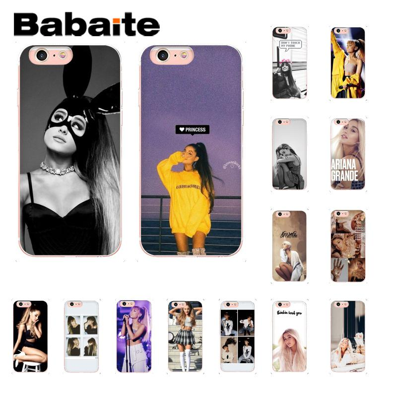 Half-wrapped Case Yinuoda For Iphone 7 6 X Case Ariana Grande Coque Shell Luxury Phone Case For Iphone 8 7 6 6s Plus X 5 5s Se Xs Max Xr Cover Cellphones & Telecommunications