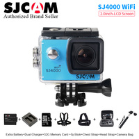 Original SJCAM SJ4000 WiFi Action Camera 2 0 Inch Sports DV LCD Screen 1080P HD Diving