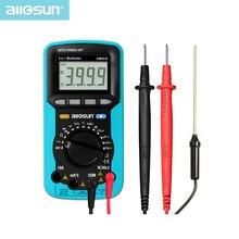 5 in 1 Digital Multimeter Sound Level Humidity Luminosity Temperature LCD AC DC Multimeter Volt Amp
