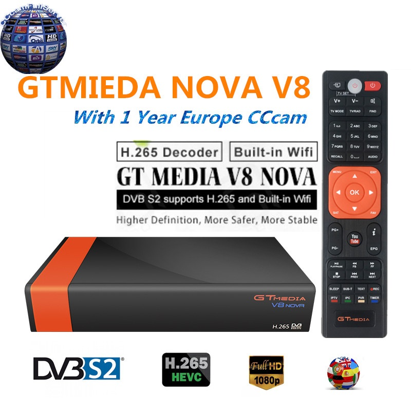 цена на Freesat V8 Super support Powervu Satellite Receiver 3G IPTV Newcad Cccam HD DVB-S2 Full 1080P USB Wifi
