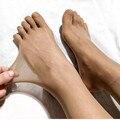 Velluto senza soluzione di continuità Cinque punta addome disegno di testa sollevamento cinque dita calze collant GPD8739-in Calzamaglie da Biancheria intima e pigiami su