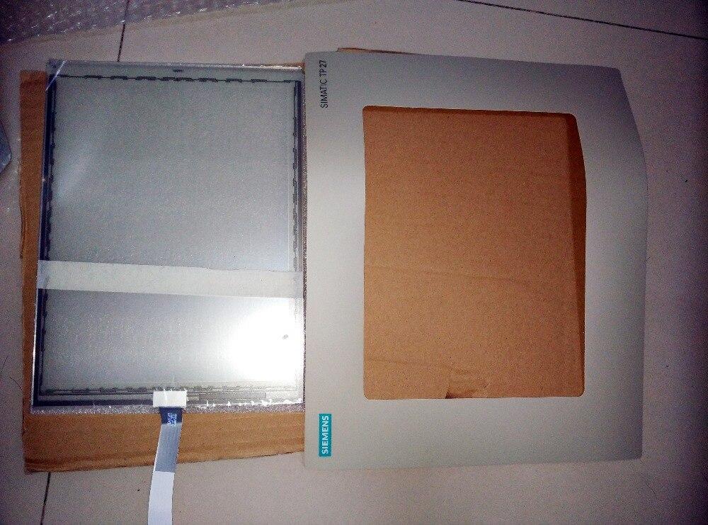 6AV3627-1QL01-0AX0 6AV3 627-1QL01-0AX0 TP27-10 Compatible Touch Glass Panel+Protective film for Siemens HMI  a970got sba a900got touch glass panel protective film 10 4 compatible