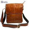Genuine Leather Men Bag 2016 New Fashion High Quality Natural Cowskin Men Messenger Bags Vintage Shoulder Crossbody Bag