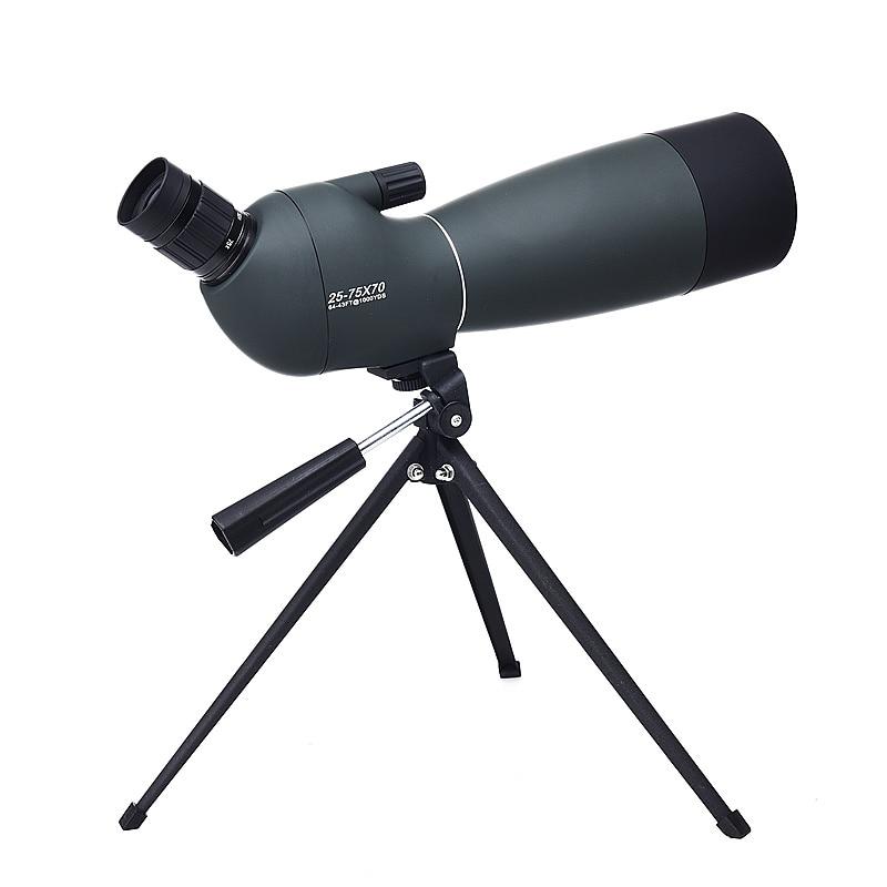 Jagdoptik Diplomatisch Hohe Zoom Monokulare 25-75x70 Hd Teleskop Mit Stativ Für Vogel-beobachten Stickstoff Astronomische Scopes Wasserdicht Spektiv