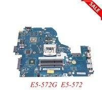 NOKOTION Z5WAW LA B702P NBMQ011001 NB.MQ011.001 Laptop motherboard For acer aspire E5 572G E5 572 HM86 GT840M GPU Main board