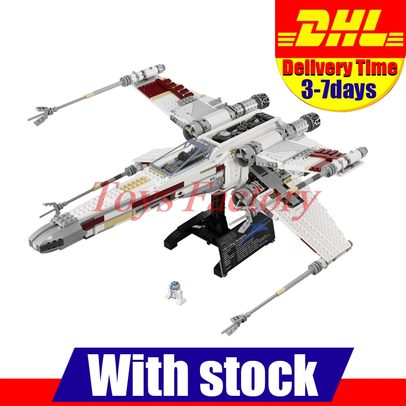 Clone 10240 font b 2017 b font DHL LEPIN 05039 1586pcs Star Wars The X wing