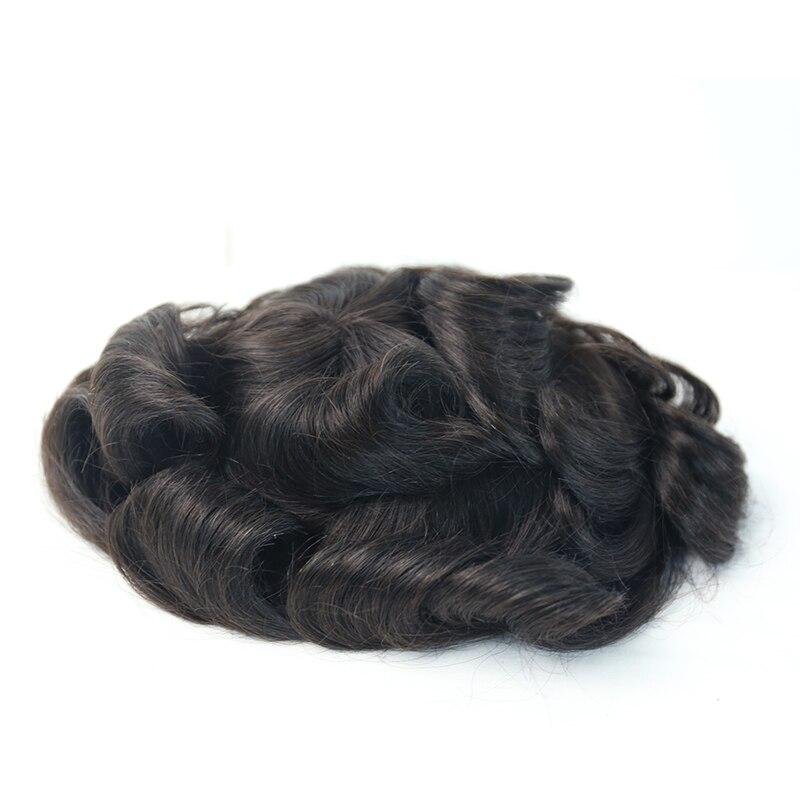 peruca sistema de substituição para homens toupees
