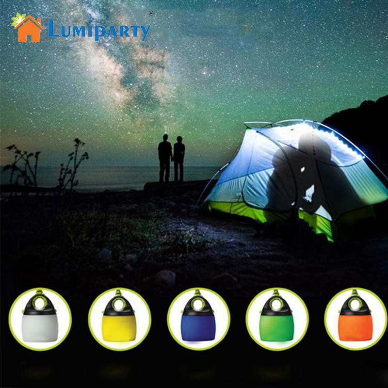 Lumiparty USB Powered LED Portable lantern tent light Camping light Waterproof Mini Outdoor Lamp chainable USB light