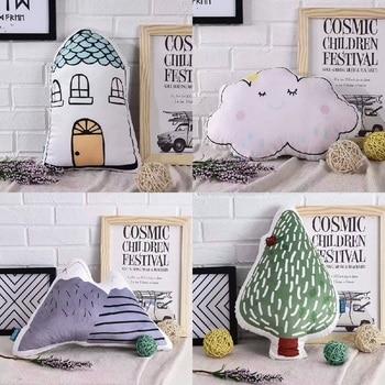 Cartoon Shape Cushion Pillow Nordic Kids Room Decor