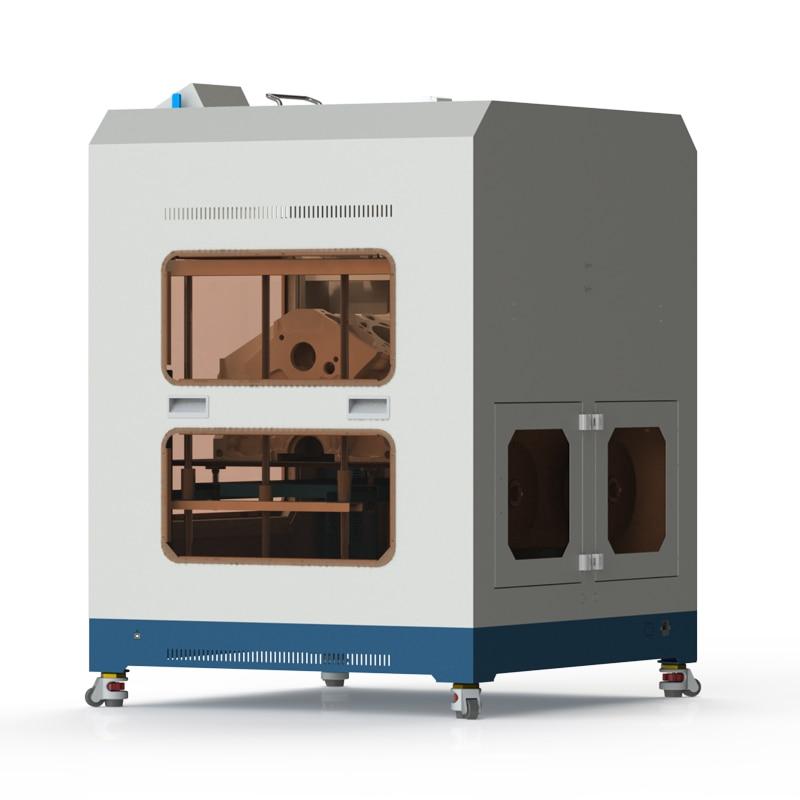 Jaunākās tehnoloģijas super lielais 3D printeris, ļoti stabils, - Biroja elektronika - Foto 4