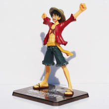 Japaness Anime Cosplay One Piece Monkey Luffy Action Figures Model Collection 15cm Two Years Later Kids