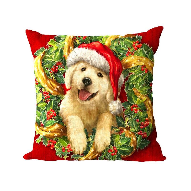 Cushion Cover Printed Christmas Pillow Covers Sofa Cushion Cover Almofada Decorativa Video Game Throw Pillows Sofa Cushion