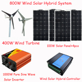 800w free solarenergy generator/400w wind generator/ solar panel 400w/1000w wind solar inverter/600w wind solar controller