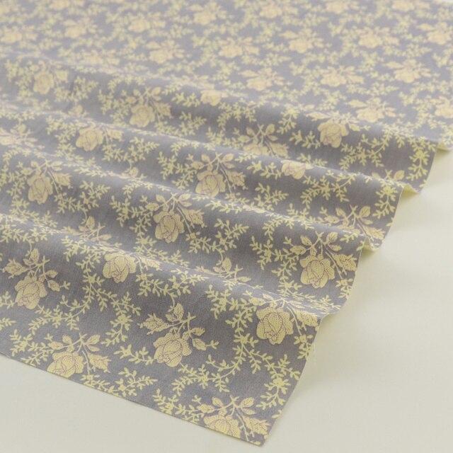 100% coton sergé tissu imprimé motifs floraux 50 cm x 160 cm/pièce patchwork pour tissus à coudre tecido artisanat livraison gratuite